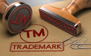 Picture of trademark stamps